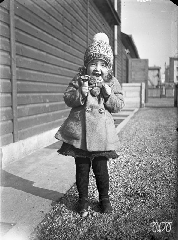 Emma 1928 auf Postsportplatz in der Arnulfstraße