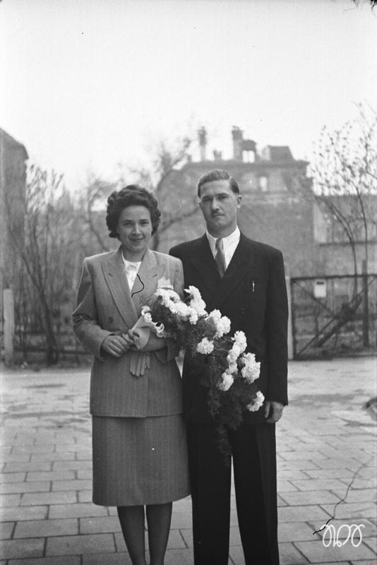 Emma und Kurt Schellhorn 1950