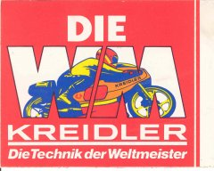 Kreidler-Sticker