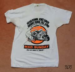 1987-T-Shirt-Mad Sunday IoM