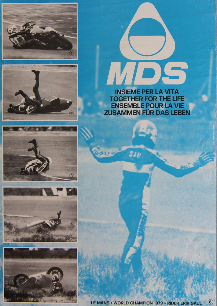 Poster MDS-Helme 1979